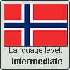 Norwegian language level INTERMEDIATE by TheFlagandAnthemGuy