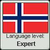 Norwegian language level EXPERT by TheFlagandAnthemGuy