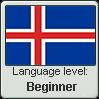 Icelandic language level BEGINNER by TheFlagandAnthemGuy