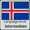 Icelandic language level INTERMEDIATE by TheFlagandAnthemGuy