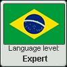 Brazilian Portuguese language level EXPERT by TheFlagandAnthemGuy