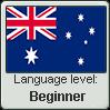 Australian English language level BEGINNER by TheFlagandAnthemGuy