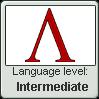 Ancient Greek language level INTERMEDIATE by TheFlagandAnthemGuy