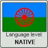 Romani language level NATIVE by TheFlagandAnthemGuy