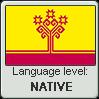 Chuvash language level NATIVE by TheFlagandAnthemGuy