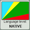 Huilliche language level NATIVE by TheFlagandAnthemGuy