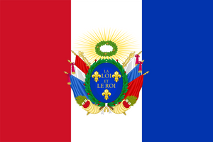 Flag for a Constitutional Kingdom of France by TheFlagandAnthemGuy