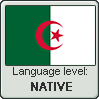 Algerian Arabic language level NATIVE by TheFlagandAnthemGuy