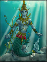 Thai merman revised - finished by DeZarin