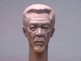 Morgan Freeman - wax 01 by AlfredParedes