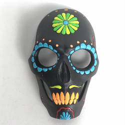 Day of the Dead mask - painted full mask by AlfredParedes