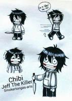 Creepypasta: Chibi Jeff The Killer by Smokertongas-arts