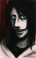 Creepypasta: Jeff the killer by Smokertongas-arts
