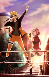 Narusaku : Toward the future by Celious