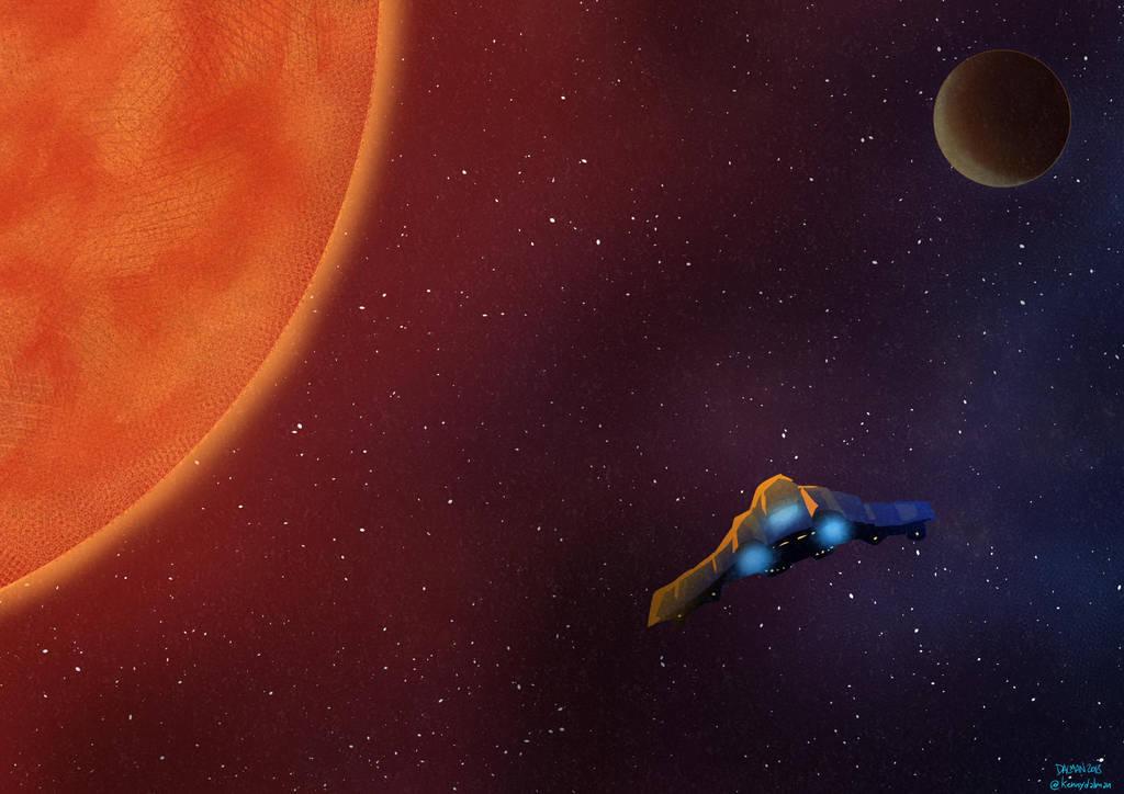 Space practice by kennydalman