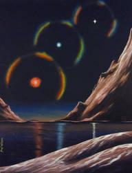 Trinary by Axel-Astro-Art