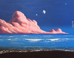 Dream beach by Axel-Astro-Art