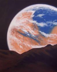 Terraformed Mars by Axel-Astro-Art