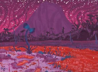 Venus' garden 1 by Axel-Astro-Art