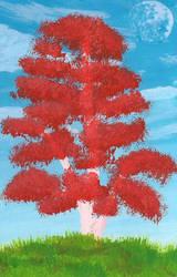 Venusian tree by Axel-Astro-Art