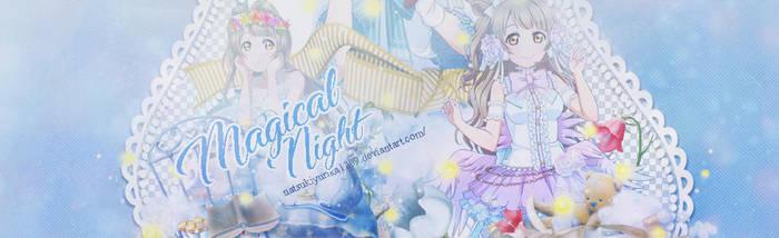 Cover Magical Night by NatsukiYurika1209