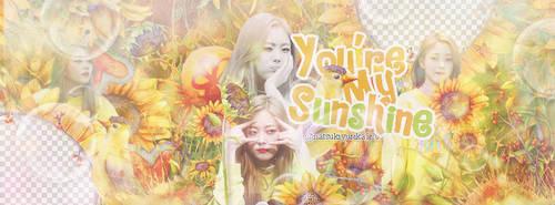 [ [ 170606 ] You're my sunshine_By Chii by NatsukiYurika1209