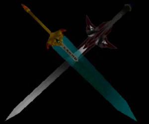Moonlight Sword and Dark Slayer (KF II) by McOuchies