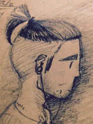 Self Portrait (Close up) by AnarchyPancake