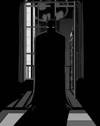The Dark Knight B/W by Radiance2020