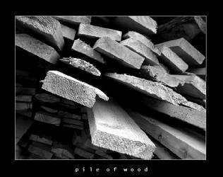 Pile Of Wood by esoteric663