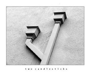 Two Candlesticks by esoteric663
