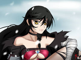 Velvet Crowe by VelvetRed-is-drawing