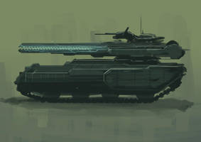 Tank_Destroyer_Side_Profile_Concept by Schism-Walker