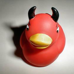 Stock: Devil Ducky by neato-stock
