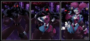 Mardi Gras in Man-Night disguise! by OAD-art
