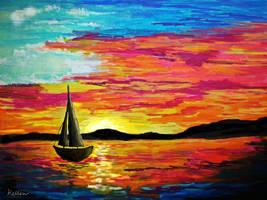 Sailing, I'm Sailing Home by LegionEllen