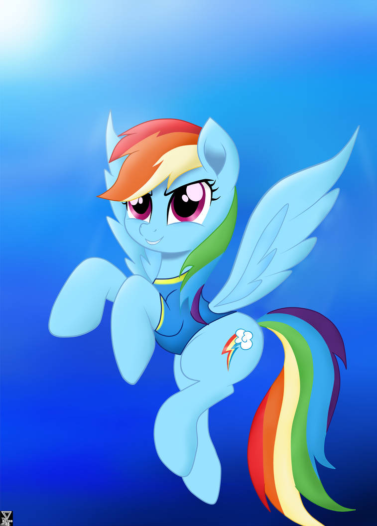 rainbow_dash__flying_in_a_cold_sky_by_th