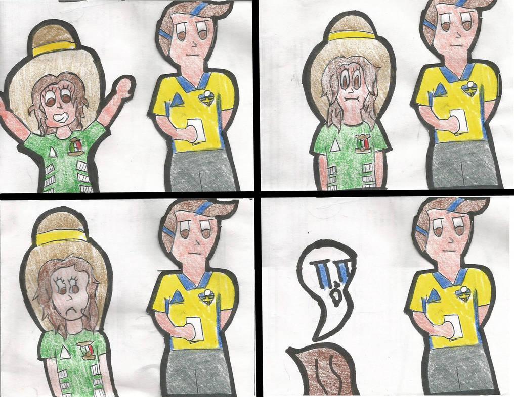 Lo que sientes durante el partido by papao156