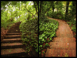 Upstairs or downstairs by PulvisEtUmbraSum