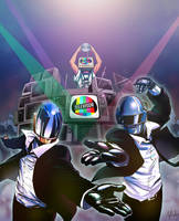 Daft Punk featuring Televisor by Afterlaughs
