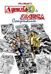 Agenzia X e Omega Compendium Cover art by Afterlaughs