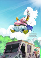 CDC - DragonBall - Majin Buu by Afterlaughs