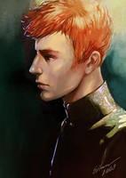 Redhead by KEileena