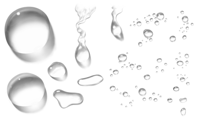 Kapky Vody  Png by Shinikami1