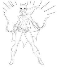 Batgirl Returns By Scotlanddbarnes-d49z7u3-digital by kilowatts62