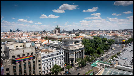 Madrid from high II by MarkHumphreys