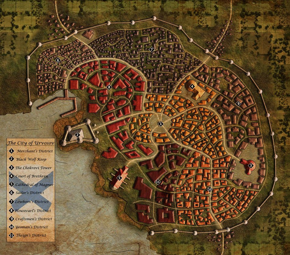 The City of Urvosov by Kaloith