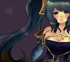 League of Legends - Sona by xxAlisa