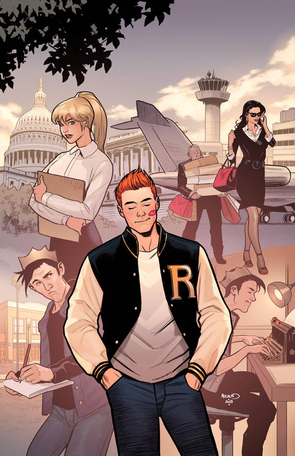 Archie700 cover by PaulRenaud