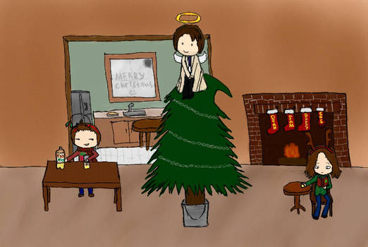 A Very Supernatural Christmas by Neartastic